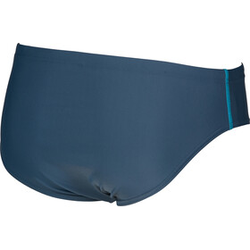 arena Basics Slip de bain Homme, shark/turquoise